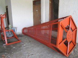 Mesin Ayak Kompos Mesin Pengayak Hasil Pencacah Kompos