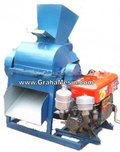 Mesin Pencampur Bahan Kompos Mesin Grinder Pembuatan Kompos