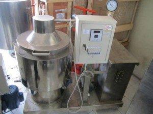 Mesin Pengurang Kadar Air Pengolah Minyak VCO Mesin Evaporator Vacuum