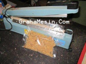 Mesin Pengemasan Makanan Ringan Mesin Sealer Manual