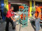 Mesin Pencetak Batako Balok Pengolahan Batako Kotak
