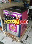 Produksi Es Krim 2 Rasa Es Alat Mix Ice Cream