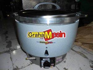 Mesin Commercial Rice Cooker Alat Pemasak Nasi