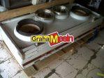 Mesin Gas Kwali Range | Alat Pemasak Masakan Cina | Kwali Range