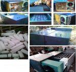Mesin Pabrik Es Balok Otomatis (Mesin Usaha Produksi Es Balok)