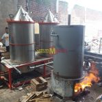 Mesin Destilasi Penyulingan Minyak Atsiri Boiler – Nilam, Cengkeh, Gaharu