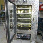 Mesin Oven Pengering Biji-bijian Serbaguna 4 Rak